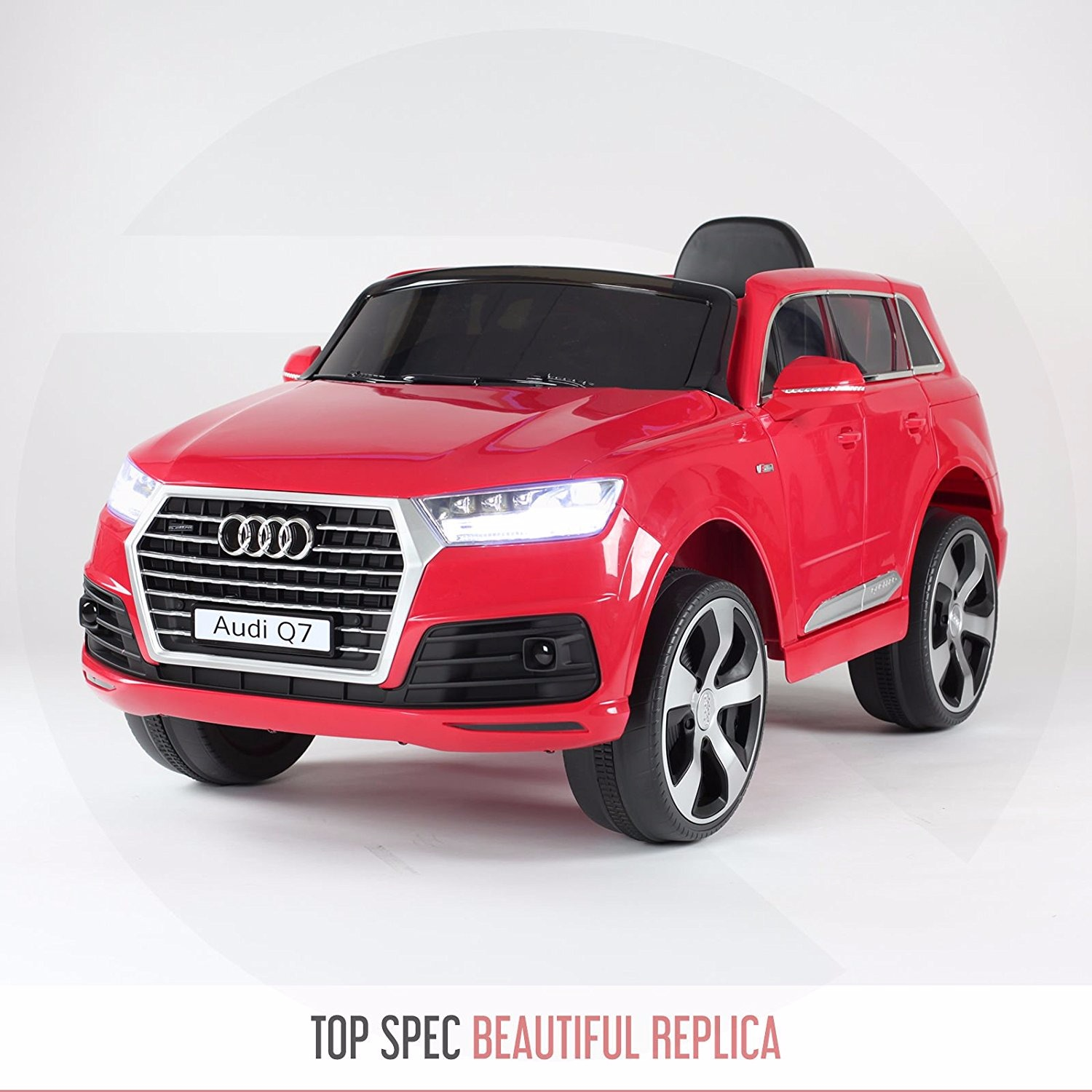 getbest audi q7 battery operated ride on car for kids dual motor dual battery chennai kids. Black Bedroom Furniture Sets. Home Design Ideas